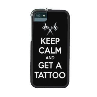 Keep calm and get a tattoo iPhone 5 cover