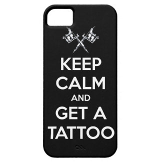 Keep calm and get a tattoo iPhone 5 case