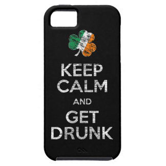 Keep Calm And Get Drunk iPhone 5 Case