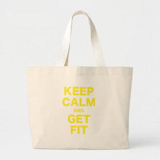 Keep Calm and Get Fit Bags