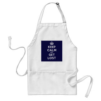 Keep Calm and Get Lost Adult Apron