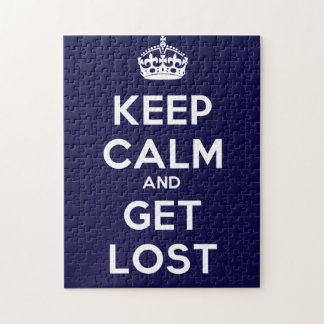 Keep Calm and Get Lost Puzzles