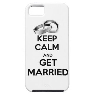 Keep Calm and Get Married iPhone SE/5/5s Case