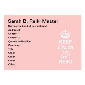 Keep Calm and Get Reiki Business Cards