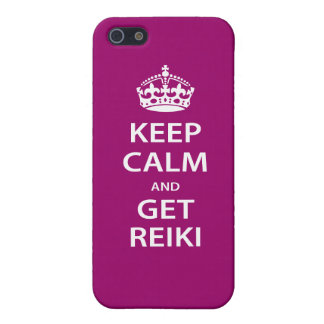 Keep Calm and Get Reiki Cover For iPhone SE/5/5s