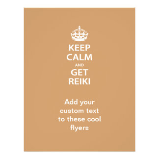 Keep Calm and Get Reiki Flyer