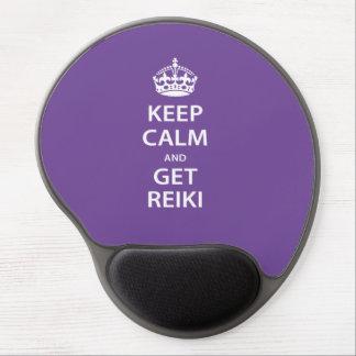 Keep Calm and Get Reiki Gel Mouse Mats