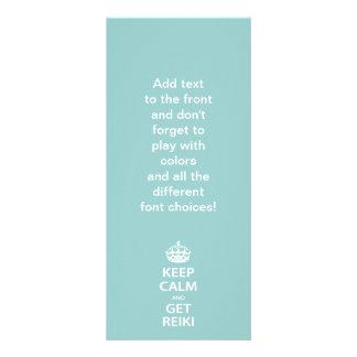 Keep Calm and Get Reiki Rack Card