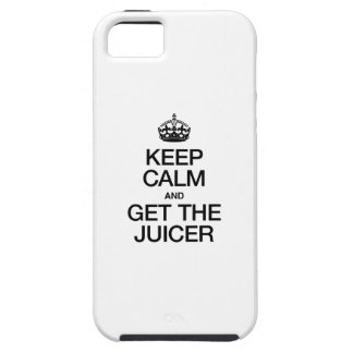 KEEP CALM AND GET THE JUICER CASE FOR iPhone 5/5S