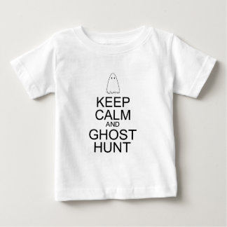 Keep Calm and Ghost Hunt (Parody) Baby T-Shirt