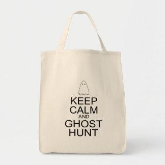 Keep Calm and Ghost Hunt Parody Bag
