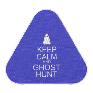 Keep Calm and Ghost Hunt (Parody) Bluetooth Speaker
