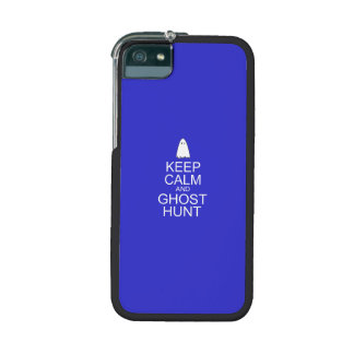 Keep Calm and Ghost Hunt (Parody) Cover For iPhone 5
