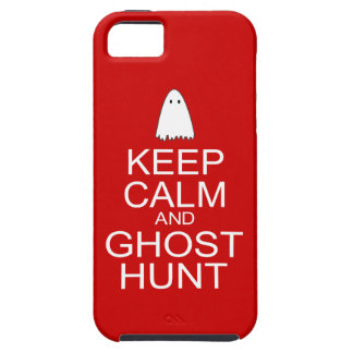 Keep Calm and Ghost Hunt (Parody) iPhone 5 Cases