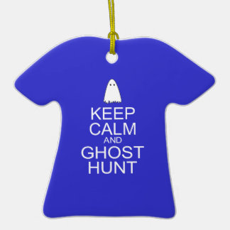 Keep Calm and Ghost Hunt (Parody) Ornament