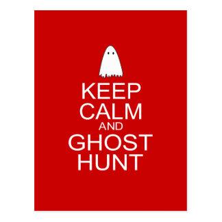 Keep Calm and Ghost Hunt (Parody) Postcard