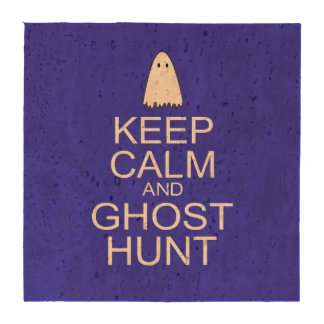 Keep Calm and Ghost Hunt (Parody) Drink Coaster