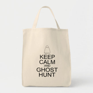 Keep Calm and Ghost Hunt (Parody) Tote Bag