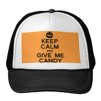 KEEP CALM AND GIVE ME CANDY.png Hats