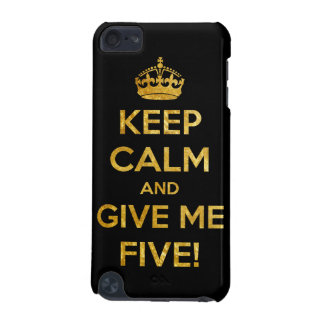 keep calm and give me five iPod touch 5G cover