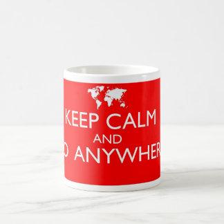 Keep Calm and Go Anywhere Mug