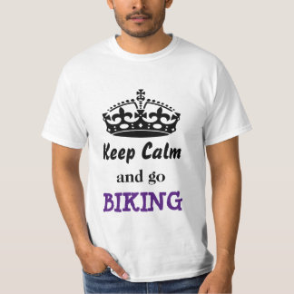Keep calm and go biking T-Shirt