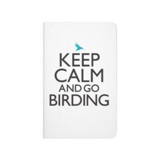 Keep Calm and Go Birding Journal