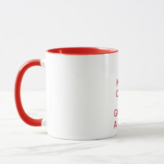 KEEP CALM and GO FOR A WALK Mug