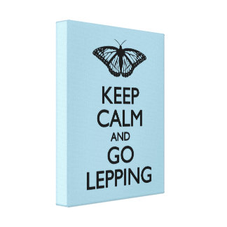 Keep Calm and Go Lepping Canvas Print