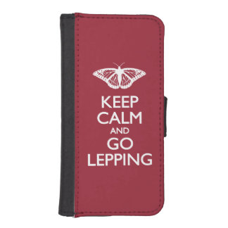 Keep Calm and Go Lepping Phone Wallets
