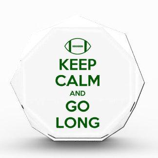 KEEP CALM AND GO LONG - football/sports/nfl Awards