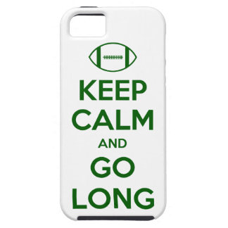 KEEP CALM AND GO LONG - football/sports/nfl iPhone SE/5/5s Case