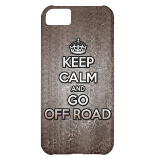 keep calm and go off road cover for iPhone 5C
