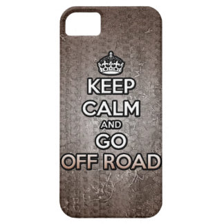 keep calm and go off road iPhone SE/5/5s case