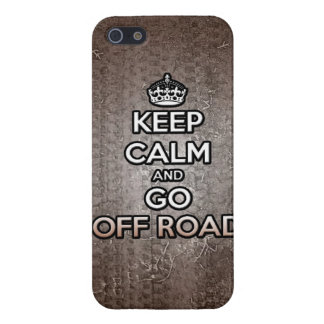 keep calm and go off road iPhone SE/5/5s cover