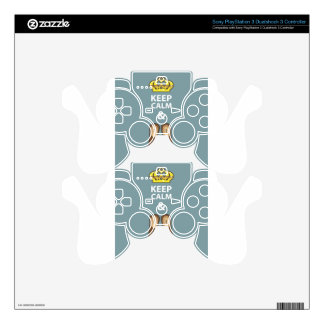 Keep Calm and Go Out vector PS3 Controller Decals