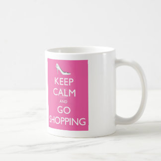Keep Calm And Go Shopping Coffee Mug