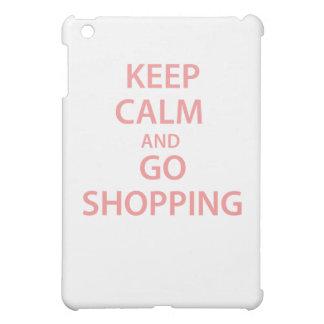Keep Calm and Go Shopping! iPad Mini Case