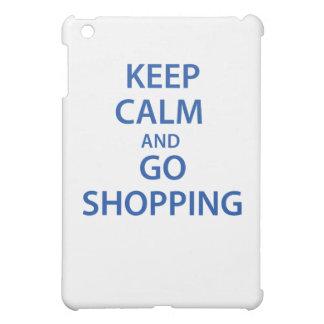 Keep Calm and Go Shopping! iPad Mini Cover