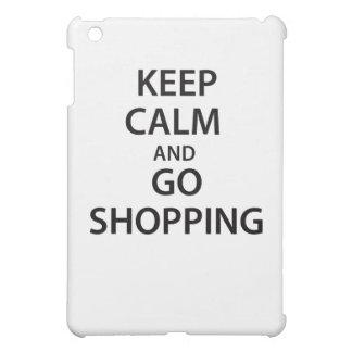 Keep Calm and Go Shopping iPad Mini Cover