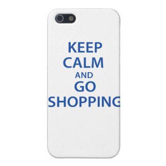 Keep Calm and Go Shopping! Cases For iPhone 5