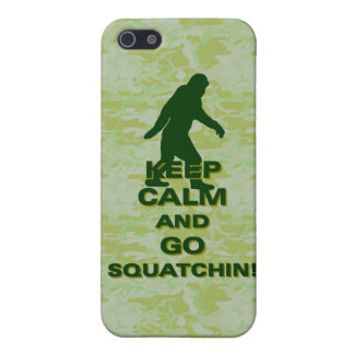 Keep calm and go squatchin iPhone SE/5/5s cover