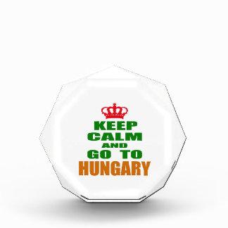 Keep calm and go to Hungary. Award