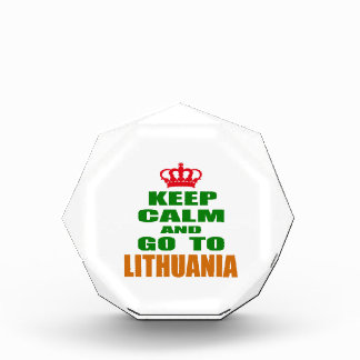 Keep calm and go to Lithuania. Awards