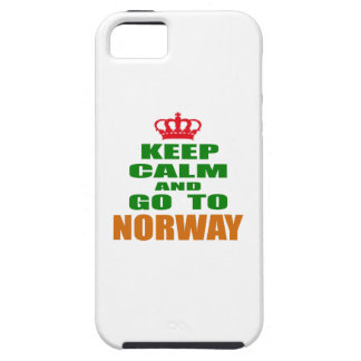 Keep calm and go to Norway. iPhone 5 Case