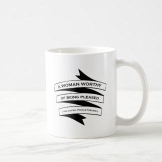 Keep Calm And Go To Pemberley Coffee Mug