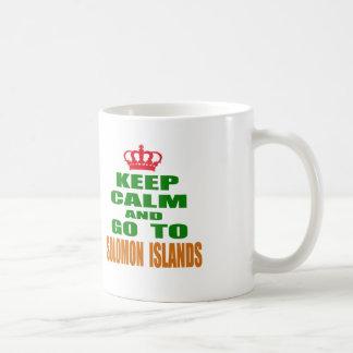 Keep calm and go to Solomon Islands. Coffee Mug