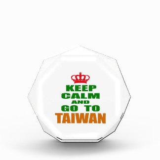 Keep calm and go to Taiwan. Awards