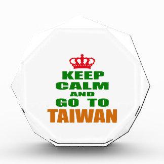 Keep calm and go to Taiwan. Award