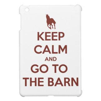 Keep Calm and Go to the Barn iPad Mini Cover